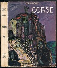 CORSE Pierre MOREL NONZA BAVELLA VIGNOLA SAGONE FAVONE MURATO CARGESE LUMIO 1951