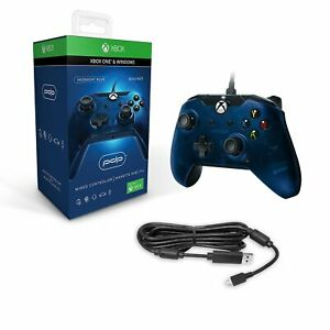 PDP Wired Controller for Xbox One - Midnight Blue (048-082-NA-BL)