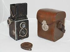 Original Rolleiflex I vintage medium format TLR camera Zeiss Tessar 7.5cm 4.5 le
