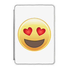 Love Heart Eyed Emoji Case Cover for iPad Mini 1 2 3 - Funny Smiley Face