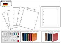 5 x LOOK 1-7401 Weiße Zwischenblätter ZWL Für Münzhüllen SAFE Premium