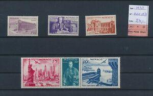 LN75908 Monaco 1947 centenary of expo fine lot MNH cv 24 EUR
