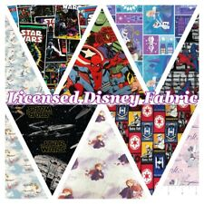 Licensed Disney Frozen2, Marvel, DC, Starwars 100% CottonFabric Patchwork Craft