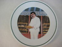 "Guy Buffet L'etalage Collection ""The Bread Maker"" Japan Plate, 7 3/4"" Diameter"