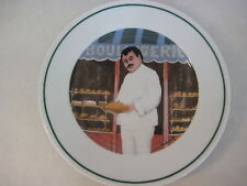 """Guy Buffet L'etalage Collection """"The Bread Maker"""" Japan Plate, 7 3/4"""" Diameter"""