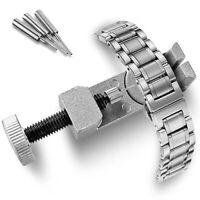 Metal Adjustable Watch Band Strap Link Pin Remover Repair Tool Dismantling Kit