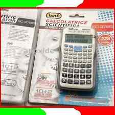 TREVI® SC 3785★CALCOLATRICE SCIENTIFICA DUAL LINE LCD 228 FUNZIONI★10+2 CIFRE
