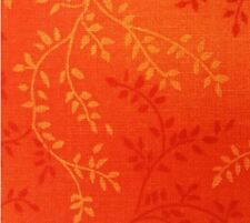 "Sale*108"" Wide Quilt Backing Fabric**Tonal Vineyard ORANGE*1/2 METRE LENGTHS"