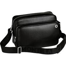 Montblanc Westside Black Reporter Bag / Messenger / Camera Bag #104614 - New