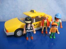 3199 taxi + muchos pasajeros a personajes 4311 figuras aeropuerto de Playmobil 1727