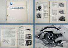 Sachs Wankelmotor KM914B Werkstatthandbuch Reparaturanweisung 10/1970