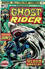 GHOST RIDER #16 & #19 (Mv) 2 VF/NM Johnny Blaze. Gil Kane-c/Tuska/Colleta-a 1976