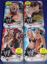 OZ WWE TOPPS 2007 collector TIN set of 4: BATISTA CENA HTF