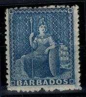 P133348/ BRITISH BARBADOS – SG # 23 MINT MH – CV 100 $
