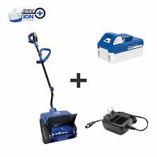 Snow Joe 24-Volt iON+ Cordless Snow Shovel | 13-Inch | 4.0-Ah Battery & Charger