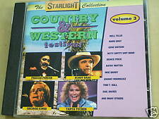 COUNTRY&WESTERN FESTIVAL VOL.3 /STARLIGHT COLL. CD 6159