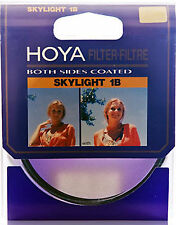 Hoya Filtro Skylight 52mm Ambos Lados Recubiertos Con Protector De Lente Filtro Hecho En Japon!