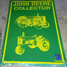 john deere green parking sign metal collector green tractor dear tractor farm