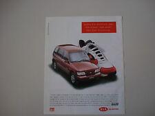 advertising Pubblicità 1994 KIA SPORTAGE 4WD
