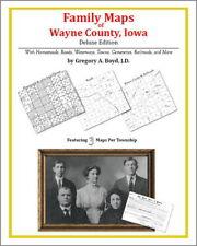 Family Maps Wayne County Iowa Genealogy Plat History
