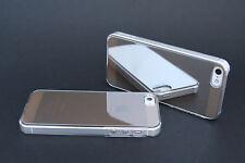 Silver daruma S-Shiny iPhone 5 Stylish Mirror Finish Cover Case Premium Quality