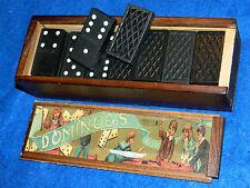 lot DOMINOS de 22 x 42 x 7 mm HERITAGE dominoes JEUX game JEU