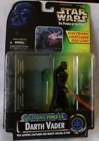 STAR WARS ELECTRONIC POWER F/X DARTH VADER w/Glowing Lightsaber.Kenner 96