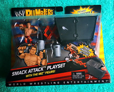 "NEW WWE MATTEL RUMBLERS ""The MIZ"" SMACK ATTACK PLAY SET  MINI  WRESTLING  [MIB]"