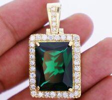 22 Carat Diamonds & Gemstone Charm Pendant 10k YG Stylish & Trendy for Men ASAAR