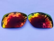 POLARIZED RUBY FIRE RED MIRRORED REPLACEMENT OAKLEY BIG TACO LENSES
