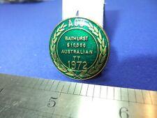 badge tt race racing auto cycle union 1972 acu australia motor bike cycle fan