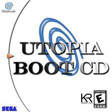Utopia Boot Play Games on your Sega Dreamcast Console Disc REPO