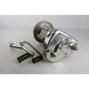 Genuine Royal Enfield Complete 4 Speed Gear Box w/ Clutch 350cc,Part # 597194/A