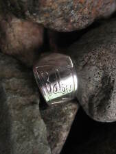 Antique Baby Spoon Ring R235 Size 4.25 Western Skies Silver