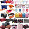 Zipper Toiletry Cosmetic Bag Quick Pack Travel Storage Wash Bags Makeup Case
