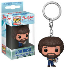 Joy of Painting - Bob Ross Pocket Pop! Keychain NEW Funko