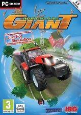 30151 // AGRICULTURE GIANT JEU DE SIMULATION XP/VISTA/7/8 POUR PC NEUF