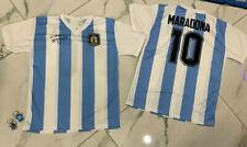 1 maglia MARADONA 10 Argentina nazional  Replica pibe de oro + Portachiavi diego