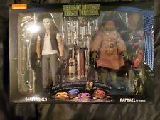 """7"""" Action Figure 2 Pack TMNT Casey Jones & Raphael in Disguise"""