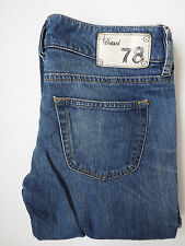 DIESEL LOUVELY JEANS WOMENS STRETCH BOOTCUT W29 L32 WASH 008HL MID BLUE# LEVH115
