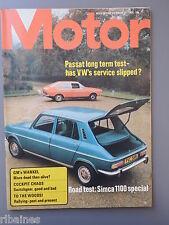R&L Mag Motor 21 Dec 1974: Simca 100 Test/GMC Wankel Cars/VW Passat Coupe