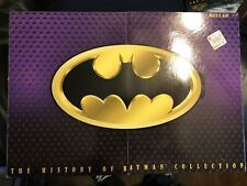 New ListingThe History of Batman Collection Kenner 3 Figurines and Cards in Box Unopened
