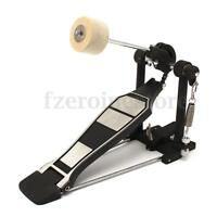 Single Bass Alloy Jazz Drum Pedal Chain Drive Adult Music Foot Kick Percussion