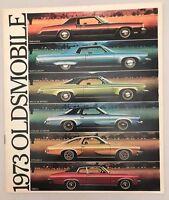 1973 Oldsmobile Original Sales Brochure - Delta 88 Toronado Cutlass Supreme VTG
