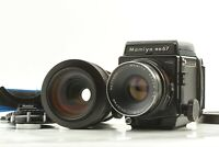 [ Near Mint ]  Mamiya RB67 Pro SD + NB 127mm + Zoom C 100~200mm From JAPAN