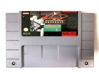 Ken Griffey Jr. Baseball - SNES Super Nintendo Game - TESTED & WORKING!