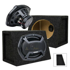 6x9 2-Way Coaxial Full Range Car Speakers w Box Enclosures Set 2 Orion CO69