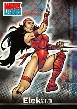 ELEKTRA / Marvel Legends (Topps 2001) BASE Trading Card #37