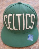 *Green Boston CELTICS - NBA Adidas Flexi Fit S/M Hat Cap NEW *