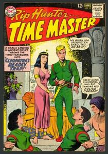 Rip Hunter Time Master #19 - Cleopatra's Deadly Trap - Ely Art - DC (1964) FN+